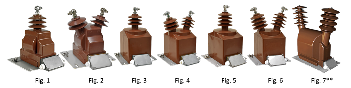 Outdoor-Type Potential Transformers for Billing (Epoxy-Cast), VPF Series - All Models